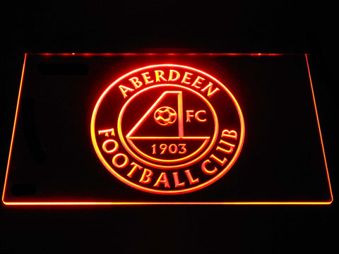 Aberdeen F.C. LED Neon Sign - Orange - SafeSpecial
