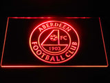 Aberdeen F.C. LED Neon Sign - Red - SafeSpecial