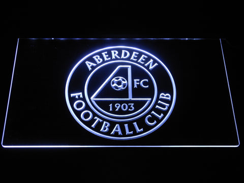 Aberdeen F.C. LED Neon Sign - White - SafeSpecial