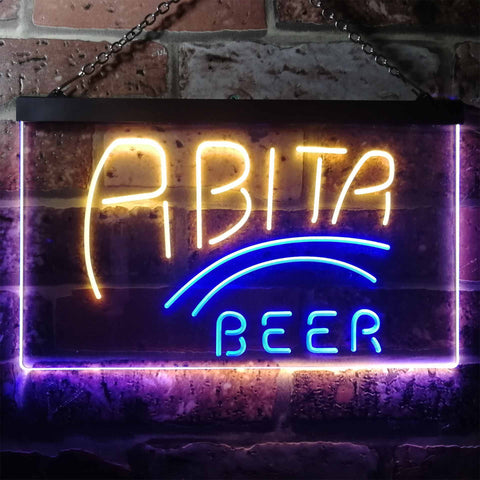 Abita Beer Banner 1 Neon-Like LED Sign - Dual Color