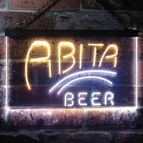 Image of Abita Beer Banner 1 Neon-Like LED Sign - Dual Color