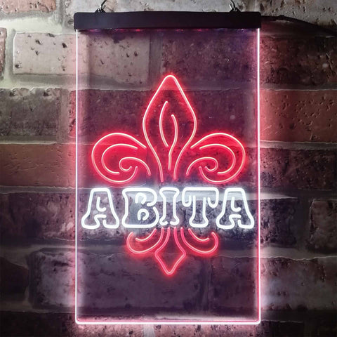 Image of Abita Beer Spade Neon-Like LED Sign - Dual Color