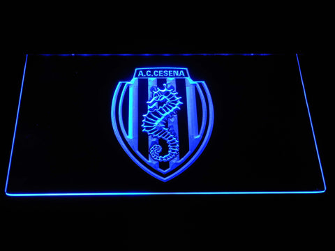 A.C. Cesena LED Neon Sign - Blue - SafeSpecial