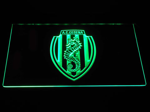 A.C. Cesena LED Neon Sign - Green - SafeSpecial