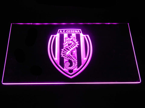 A.C. Cesena LED Neon Sign - Purple - SafeSpecial