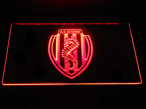 Image of A.C. Cesena LED Neon Sign - Red - SafeSpecial