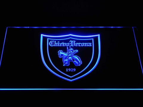 Image of A.C. Chievo Verona LED Neon Sign - Blue - SafeSpecial