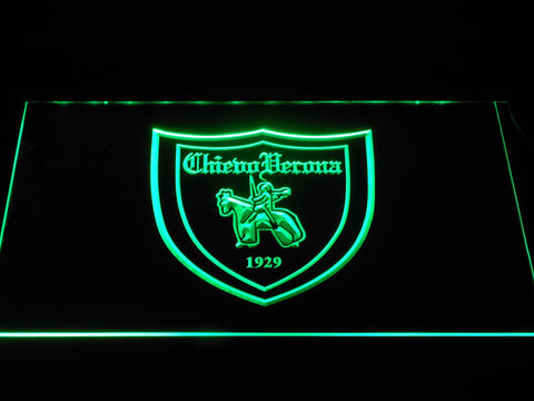 Image of A.C. Chievo Verona LED Neon Sign - Green - SafeSpecial