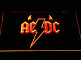 AC/DC Horns LED Neon Sign - Orange - SafeSpecial