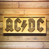 AC/DC Let There Be Rock Wooden Sign - Small - SafeSpecial