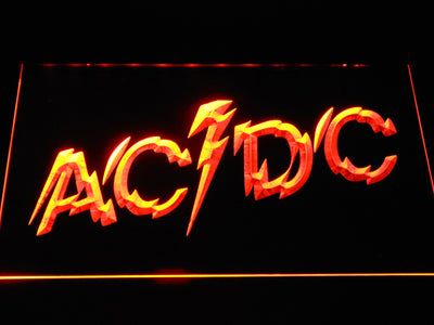 AC/DC Powerage LED Neon Sign - Yellow - SafeSpecial