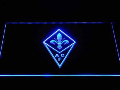 ACF Fiorentina LED Neon Sign - Blue - SafeSpecial