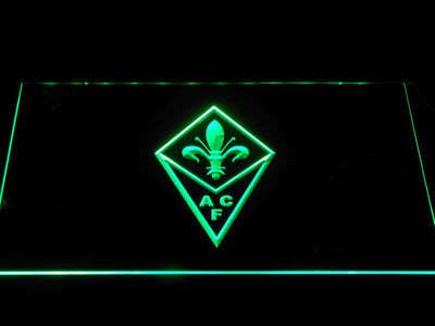 ACF Fiorentina LED Neon Sign - Green - SafeSpecial