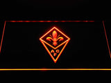ACF Fiorentina LED Neon Sign - Orange - SafeSpecial