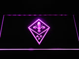ACF Fiorentina LED Neon Sign - Purple - SafeSpecial