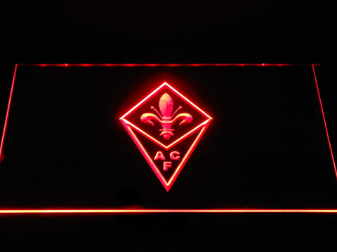 Image of ACF Fiorentina LED Neon Sign - Red - SafeSpecial