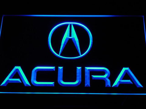 Acura LED Neon Sign - Blue - SafeSpecial