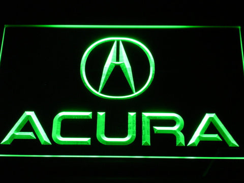 Image of Acura LED Neon Sign - Green - SafeSpecial