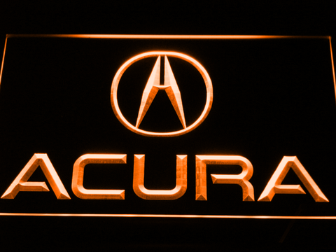 Image of Acura LED Neon Sign - Orange - SafeSpecial