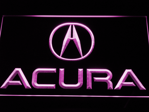 Image of Acura LED Neon Sign - Purple - SafeSpecial