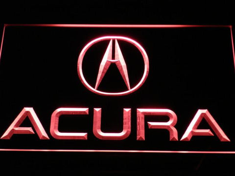 Acura LED Neon Sign - Red - SafeSpecial