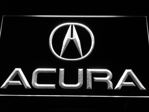 Image of Acura LED Neon Sign - White - SafeSpecial