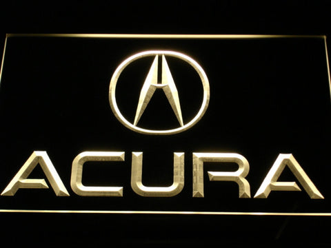 Image of Acura LED Neon Sign - Yellow - SafeSpecial