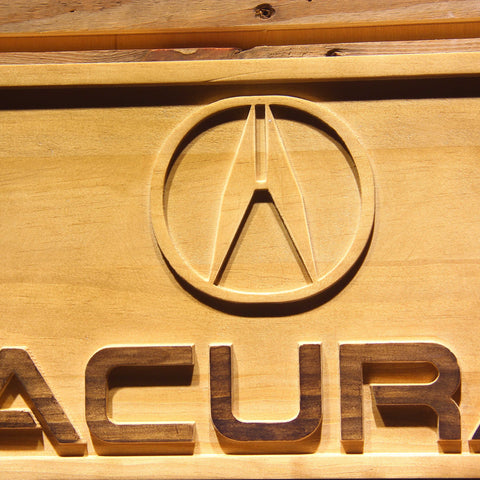 Image of Acura Wooden Sign - - SafeSpecial