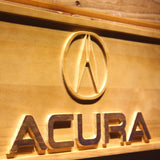 Acura Wooden Sign - - SafeSpecial