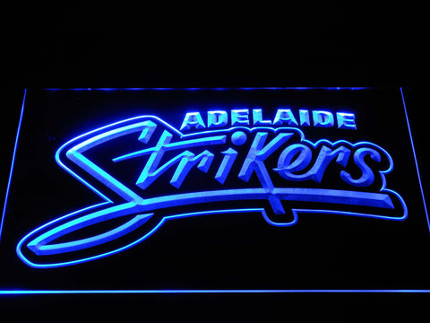 Adelaide Strikers LED Neon Sign - Blue - SafeSpecial
