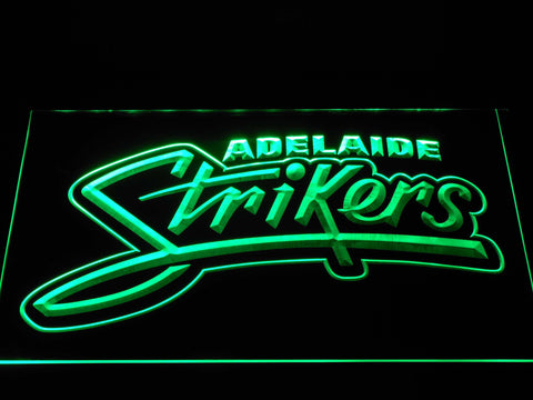 Adelaide Strikers LED Neon Sign - Green - SafeSpecial