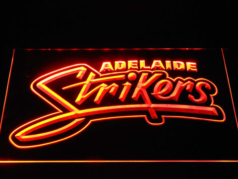 Adelaide Strikers LED Neon Sign - Orange - SafeSpecial