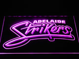 Adelaide Strikers LED Neon Sign - Purple - SafeSpecial