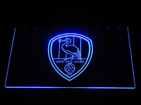 Image of ADO Den Haag LED Neon Sign - Blue - SafeSpecial