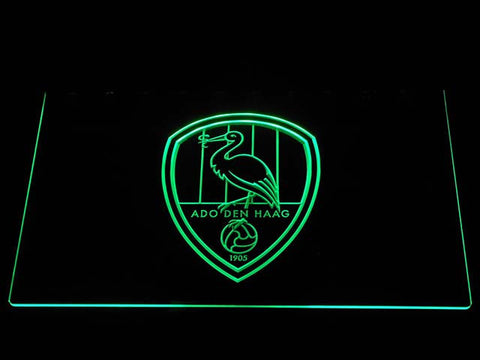 Image of ADO Den Haag LED Neon Sign - Green - SafeSpecial