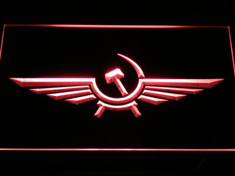 Image of Aeroflot LED Neon Sign - Red - SafeSpecial
