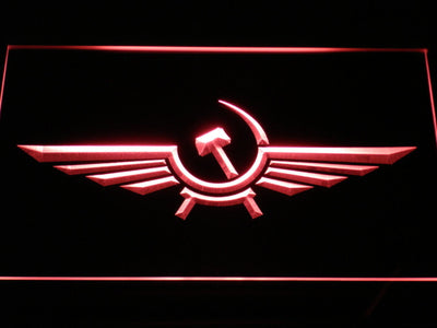 Aeroflot LED Neon Sign - Red - SafeSpecial