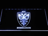 AFC Wimbledon LED Neon Sign - White - SafeSpecial