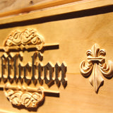 Affliction Wooden Sign - - SafeSpecial