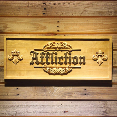 Affliction Wooden Sign - Small - SafeSpecial