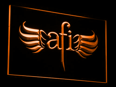AFI LED Neon Sign - Orange - SafeSpecial