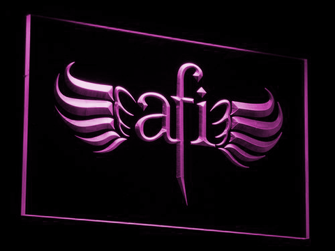 AFI LED Neon Sign - Purple - SafeSpecial