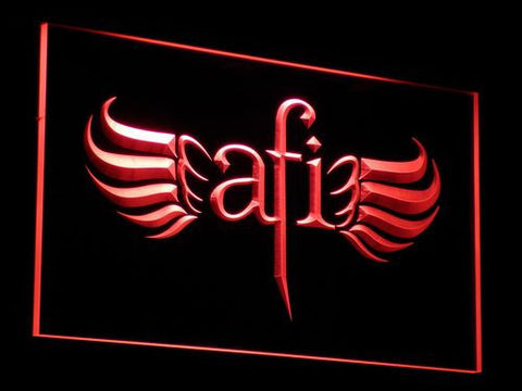 AFI LED Neon Sign - Red - SafeSpecial