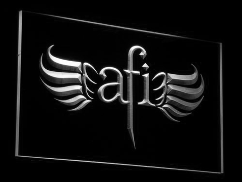 AFI LED Neon Sign - White - SafeSpecial