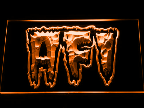 AFI Total Immortal LED Neon Sign - Orange - SafeSpecial