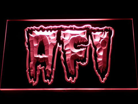 AFI Total Immortal LED Neon Sign - Red - SafeSpecial