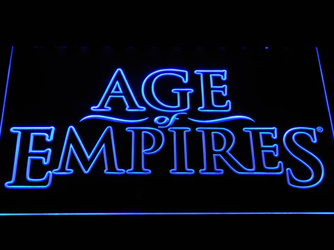 Image of Age Of Empires LED Neon Sign - Blue - SafeSpecial
