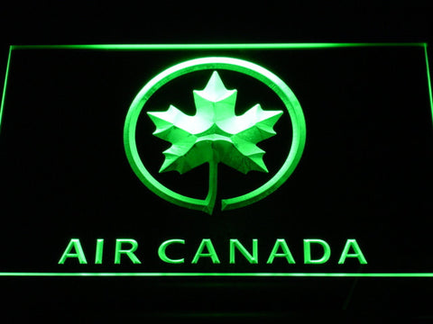 Image of Air Canada LED Neon Sign - Green - SafeSpecial
