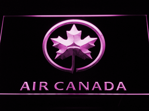 Image of Air Canada LED Neon Sign - Purple - SafeSpecial