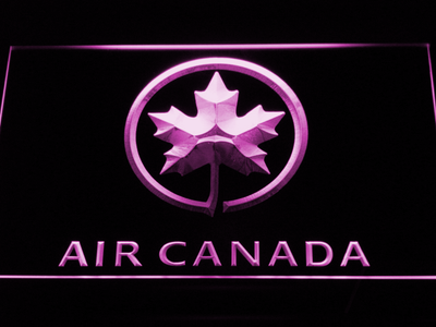 Air Canada LED Neon Sign - Purple - SafeSpecial